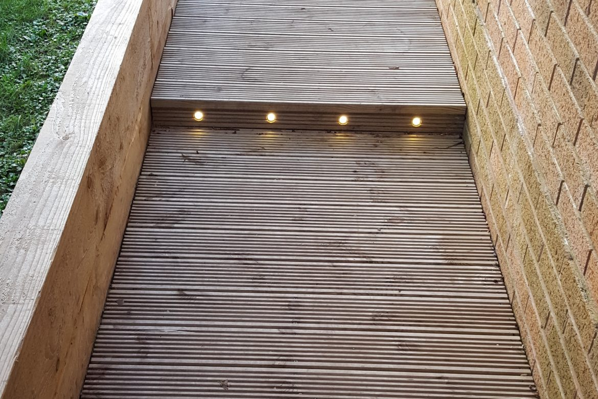Decking & lights