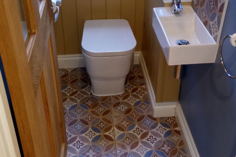 WC tiling