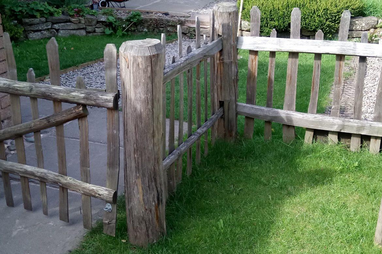 Chestnut fencing 1