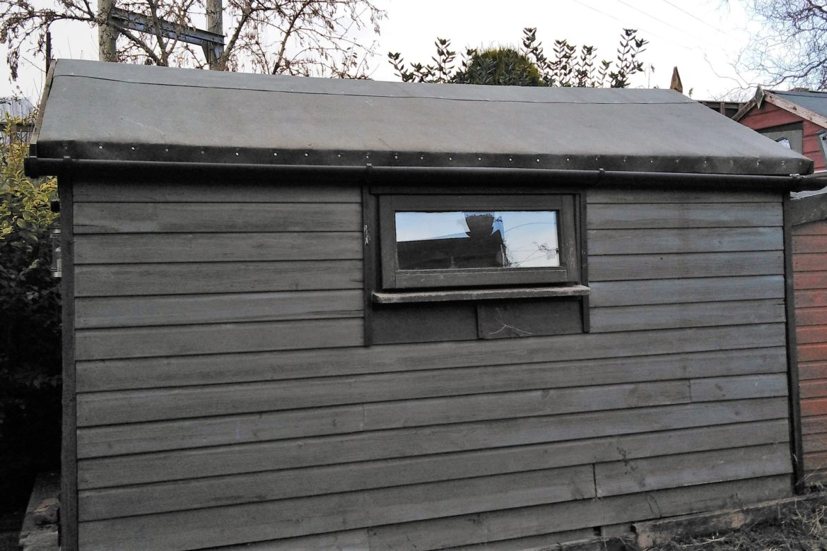 shed roof